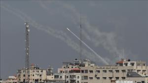 موج جدید حمله موشکی و راکتی از نوار غزه به سرزمینهای اشغالی