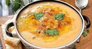 طرز تهیه سوپ سیب زمینی کوبیده
