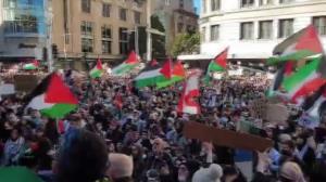 تظاهرات ضد صهیونیستی در بزرگترین شهر استرالیا