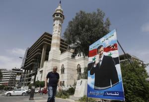 اسد کمپین انتخاباتیاش را آغاز کرد
