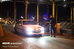 تداوم محدودیت تردد شبانه در زنجان
