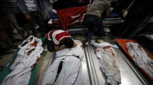جنایت جدید صهیونیست ها؛ ۸ کودک فلسطینی زیر سقف یک خانه شهید شدند