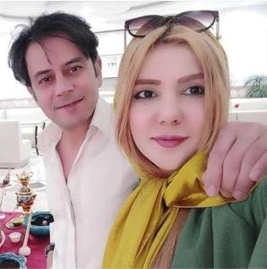 چهرهها/ رحیم نوروزی در کنار همسرش