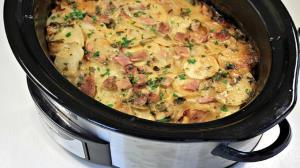 طرز تهیه کاسرول ژامبون و سیب زمینی پنیری ؛ خوشمزه و پرطرفدار
