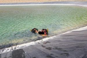 غرق شدن ۲ تبعه افغان در یک استخر پلیمری