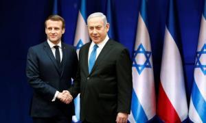 گفتگوی تلفنی ماکرون با نتانیاهو پیرامون وضعیت غزه
