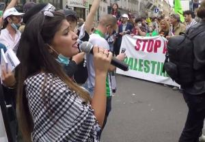 سرکوب معترضان به اسرائیل در پاریس