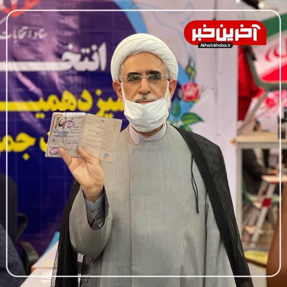 عکس/ رسول منتجب نیا در انتخابات ریاست جمهوری ثبت نام کرد
