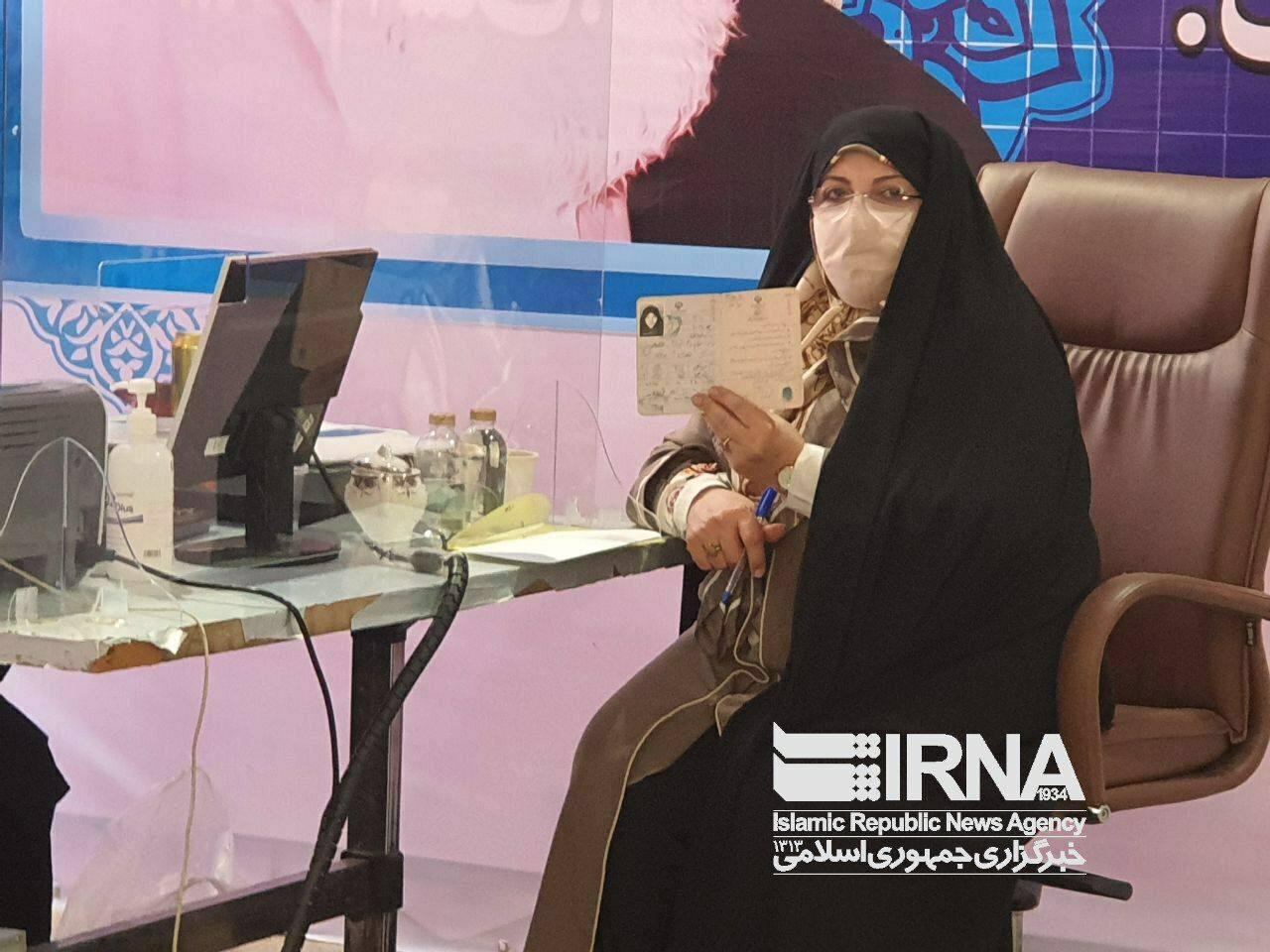 عکس/ زهرا شجاعی در انتخابات ریاست جمهوری ثبت نام کرد