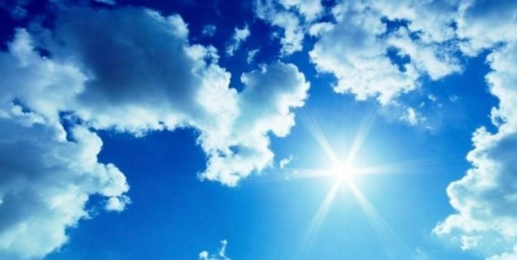 افزایش محسوس دما و وزش باد گرم در آسمان مازندران