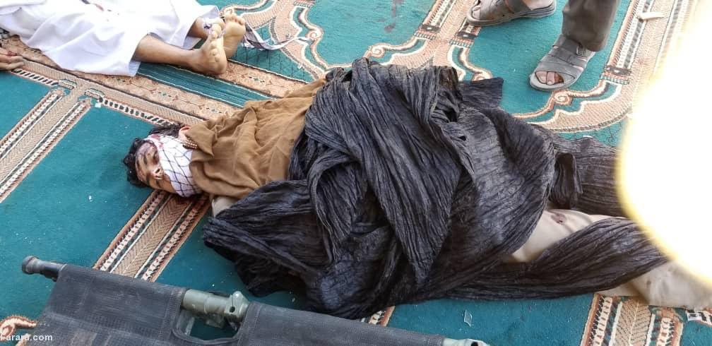 عکس/ انفجار مرگبار در مسجد حاجی بخشی