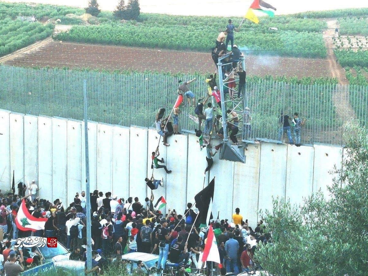 تجمع امروز شهروندان لبنانی در کفرکلا برای حمایت از مردم فلسطین