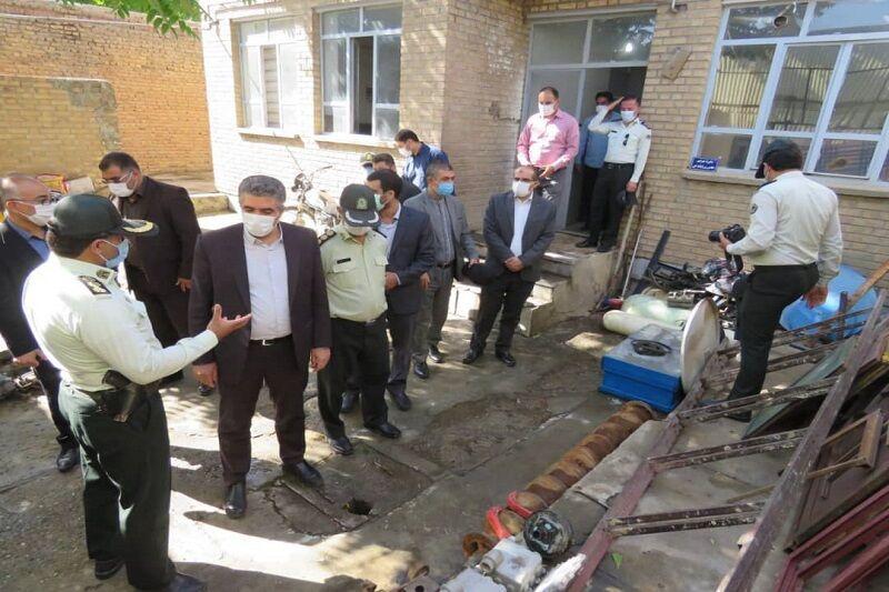 سارقان میلیاردی اموال عمومی در مهاباد دستگیر شدند