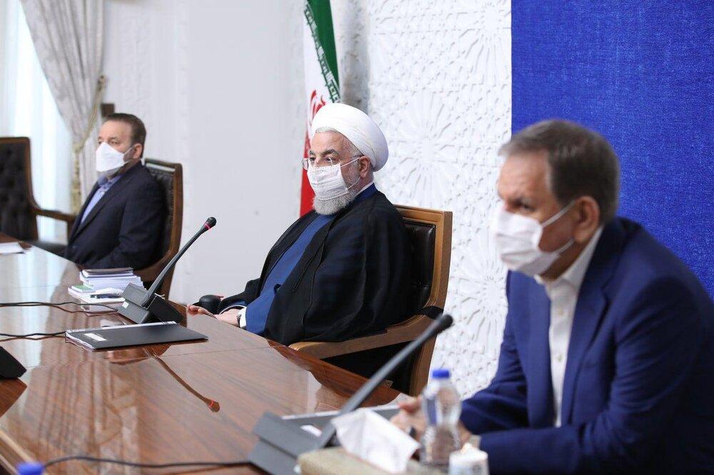 جلسه ستاد هماهنگی اقتصادی دولت با حضور رئیس جمهور