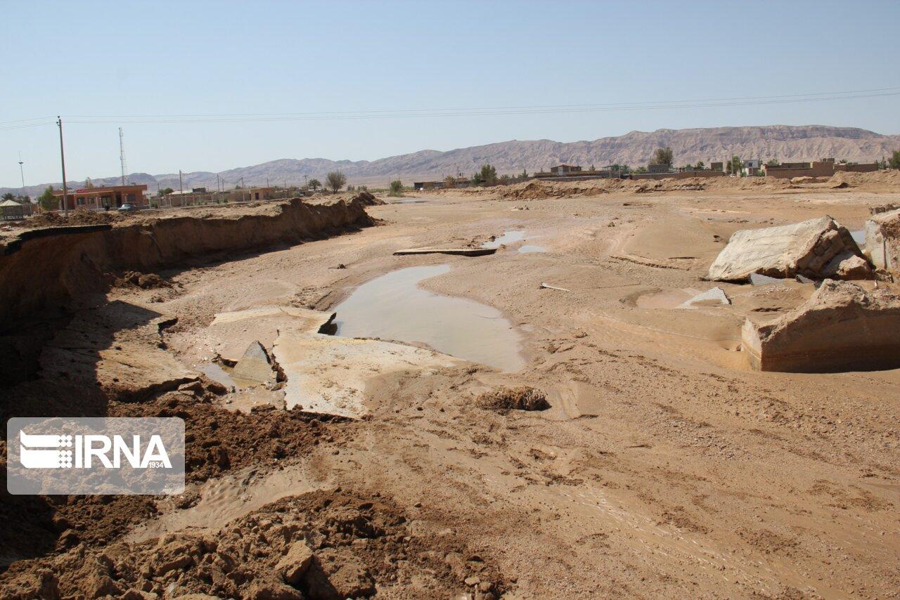 سیل ۱۰ میلیارد ریال به کشاورزی خوروبیابانک خسارت زد