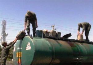 ۱۷ هزار لیتر سوخت قاچاق در بندر کنگان کشف شد