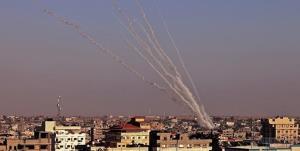 شلیک رگبار راکت به سوی شهرکهای صهیونیستی اطراف غزه