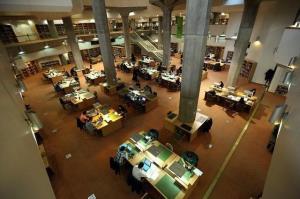 تالارهای عمومی کتابخانه ملی بازگشایی شد