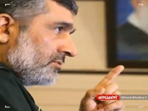 سردار حاجیزاده: امروز تقاطعی از آتش موشکی بر سر رژیم صهیونیستی است