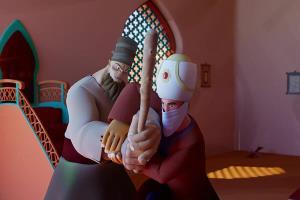 سختی دوبله انیمیشن «سفرهای سعدی» به روایت فیلم