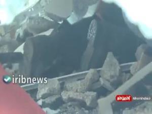 تصاویری دلخراش از بیرون آوردن پیکر شهدای فلسطینی از زیر آوار