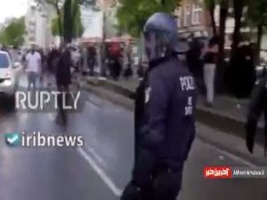 اعتراضات به کشتار مردم غزه در برلین به خشونت کشیده شد