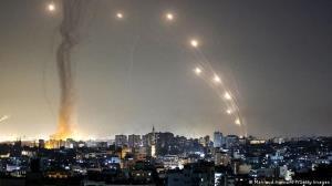 تصاویر اصابت موشک به شهرکهای صهیونیستی