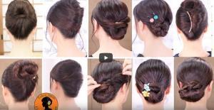 15 آموزش خودآرایی مو در یک ویدئو