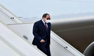 رئیسجمهور مصر عازم فرانسه شد