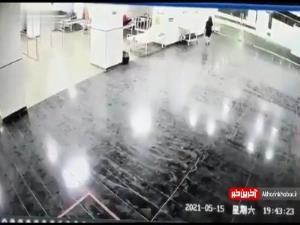 حمله مرد هندی به بیمارستان!