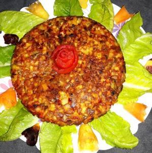 «کوکوی هفت لشکر تبریزی» یک غذای سنتی و خاص