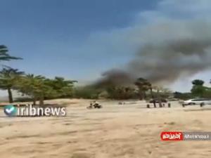 تصاویری از اصابت موشک به شهرک صهیونیستی نتیفوت