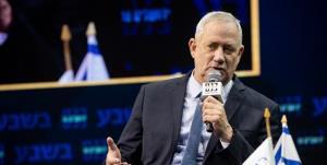 گانتز هدف از تداوم حملات به غزه تقویت میانهروها در منطقه است