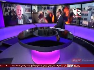واکنش تند مهمان برنامه به اظهارات وقیحانه مجری بی بی سی