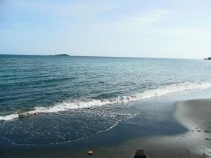 آرامش دریای خزر در آخرین روزهای اردیبهشت