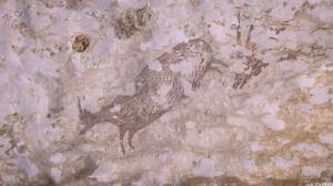 تغییرات اقلیمی در حال نابودی نقاشی سنگی ۴۰ هزار ساله