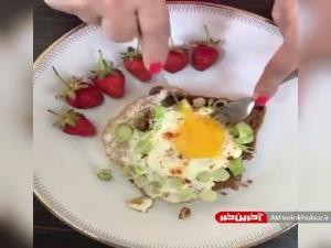 املت تره فرنگی صبحانه ای لذیذ و مغذی