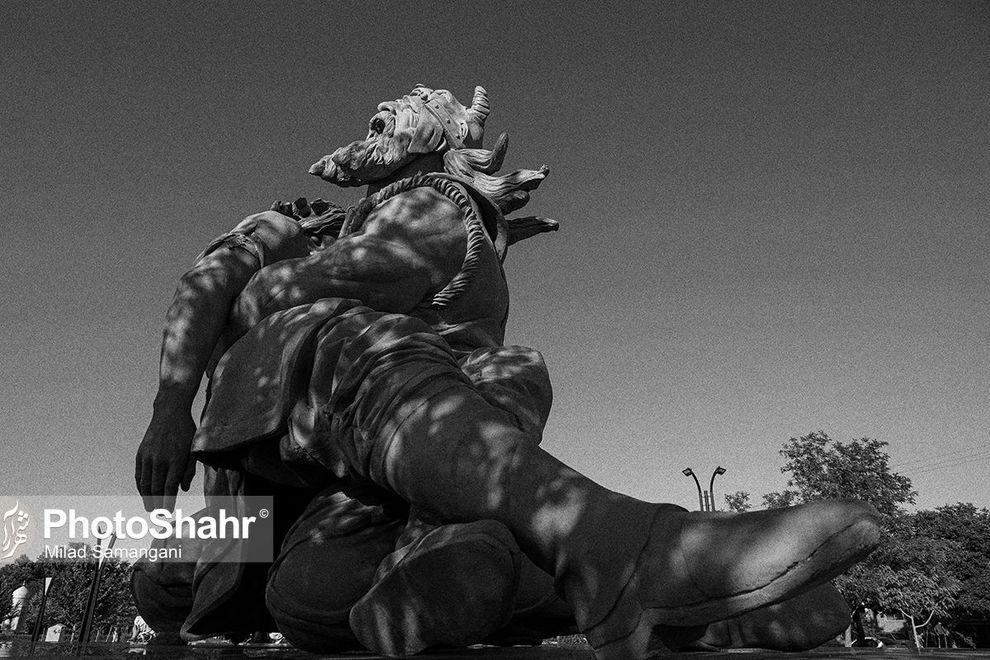 تندیسهای افسانهای شهر مشهد