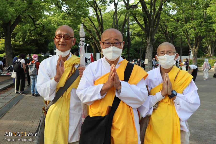 عکس/ رژیم صهیونیستی صدای اعتراض ژاپنی ها را بلند کرد!