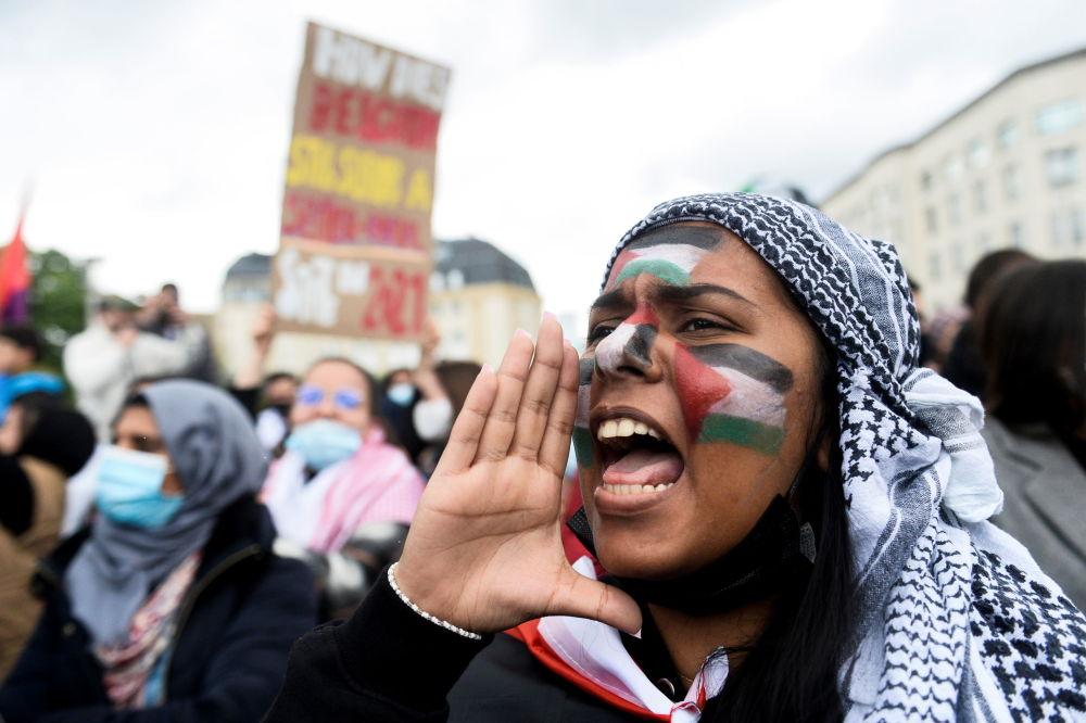 تظاهرات در کشورهای دنیا به طرفداری از فلسطین