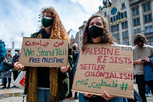 همبستگی با ملت فلسطین در آمستردام