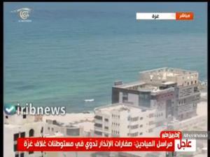 گزارش ویدئویی المیادین از حمله به یک خودرو در غزه