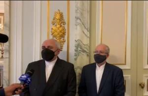 اظهارات ظریف پس از دیدار با وزیر خارجه ایتالیا