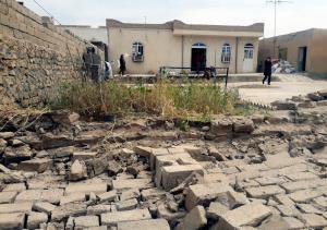 خانههای خسارت دیده از زلزله خراسان شمالی پیش از فصل سرد تعمیر میشوند