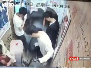 آتش گرفتن دوچرخه برقی در آسانسور فاجعه آفرید!