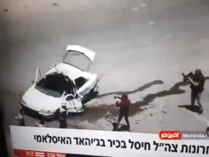 فیلمی ترور یکی از فرماندهان ارشد سرایاالقدس توسط ارتش اسرائیل