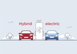 فرق ماشین هیبریدی با برقی چیست؟