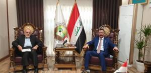 رایزنی سفیر ایران با وزیر کشاورزی عراقدر بغداد