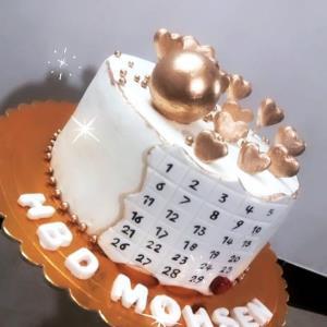 از شما/کیک تولد سفارشی♡
