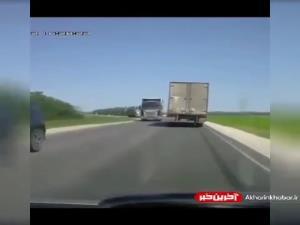 مهارت راننده کامیون